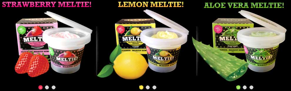 the three wonderful flavours of Meltie